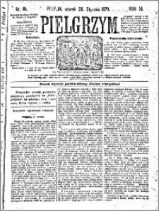 Pielgrzym, pismo religijne dla ludu 1879 nr 10
