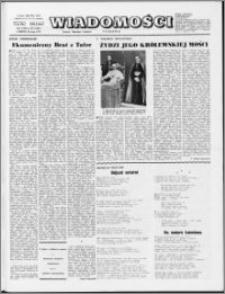 Wiadomości, R. 29 nr 20 (1469), 1974