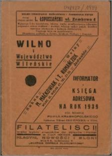 Wilno i Województwo Wileńskie 1939