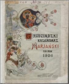 Grudziądzki Kalendarz Maryański : na rok 1926