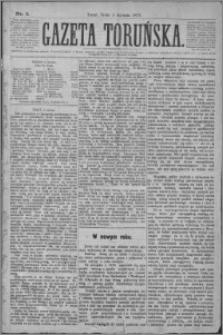 Gazeta Toruńska 1877, R. 11 nr 1