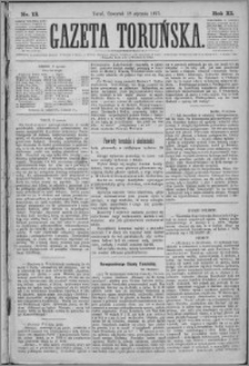 Gazeta Toruńska 1877, R. 11 nr 13