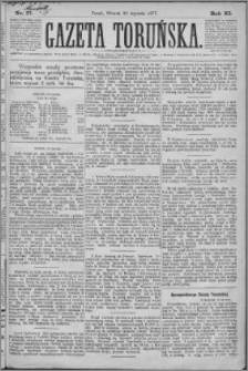 Gazeta Toruńska 1877, R. 11 nr 17