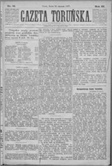 Gazeta Toruńska 1877, R. 11 nr 18