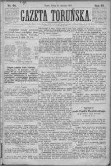 Gazeta Toruńska 1877, R. 11 nr 24