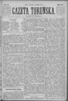 Gazeta Toruńska 1877, R. 11 nr 77