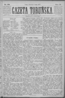Gazeta Toruńska 1877, R. 11 nr 101