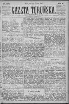 Gazeta Toruńska 1877, R. 11 nr 207