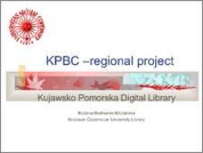KPBC – regional project
