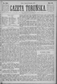 Gazeta Toruńska 1877, R. 11 nr 259