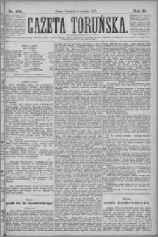 Gazeta Toruńska 1877, R. 11 nr 279