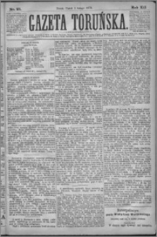 Gazeta Toruńska 1878, R. 12 nr 27