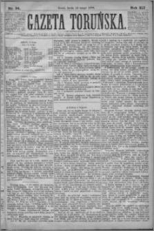 Gazeta Toruńska 1878, R. 12 nr 36