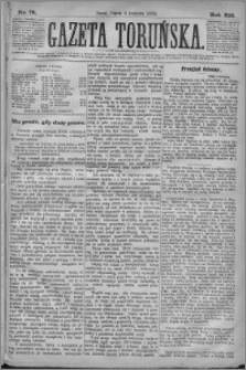 Gazeta Toruńska 1878, R. 12 nr 79