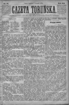 Gazeta Toruńska 1878, R. 12 nr 81