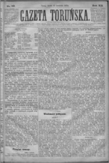 Gazeta Toruńska 1878, R. 12 nr 83