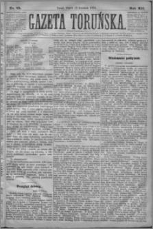 Gazeta Toruńska 1878, R. 12 nr 85