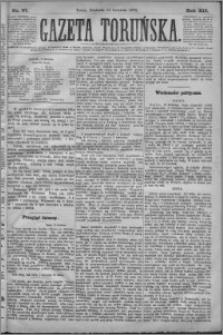 Gazeta Toruńska 1878, R. 12 nr 87