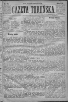 Gazeta Toruńska 1878, R. 12 nr 90
