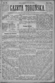 Gazeta Toruńska 1878, R. 12 nr 95