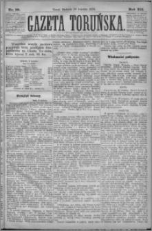 Gazeta Toruńska 1878, R. 12 nr 98