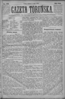 Gazeta Toruńska 1878, R. 12 nr 109