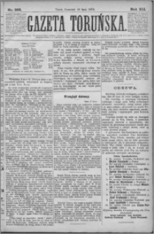 Gazeta Toruńska 1878, R. 12 nr 163