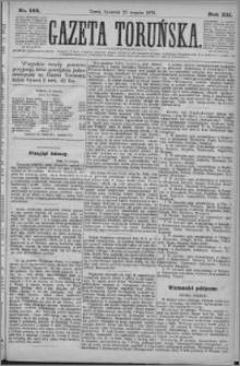 Gazeta Toruńska 1878, R. 12 nr 193