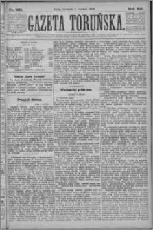 Gazeta Toruńska 1878, R. 12 nr 205