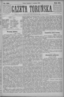 Gazeta Toruńska 1878, R. 12 nr 208