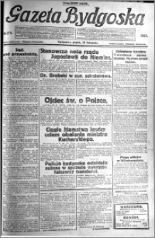 Gazeta Bydgoska 1923.11.30 R.2 nr 275