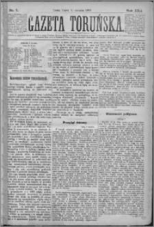 Gazeta Toruńska 1879, R. 13 nr 7