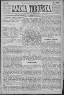 Gazeta Toruńska 1879, R. 13 nr 17
