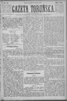 Gazeta Toruńska 1879, R. 13 nr 71