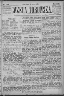 Gazeta Toruńska 1879, R. 13 nr 140