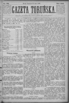Gazeta Toruńska 1879, R. 13 nr 175