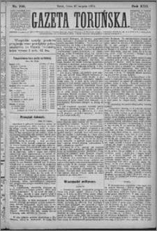 Gazeta Toruńska 1879, R. 13 nr 198