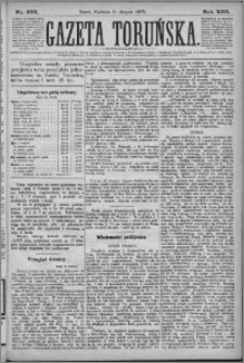 Gazeta Toruńska 1879, R. 13 nr 202