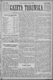 Gazeta Toruńska 1879, R. 13 nr 258