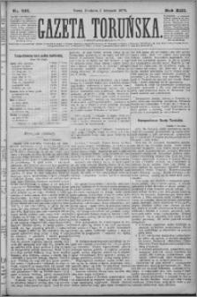 Gazeta Toruńska 1879, R. 13 nr 261