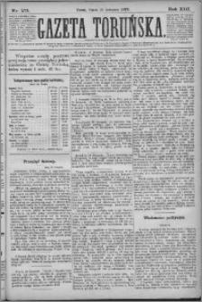 Gazeta Toruńska 1879, R. 13 nr 271