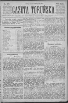 Gazeta Toruńska 1879, R. 13 nr 277