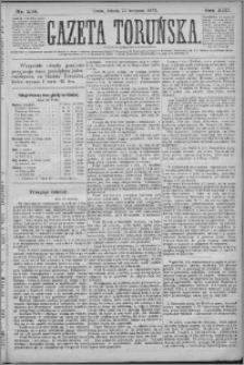 Gazeta Toruńska 1879, R. 13 nr 278