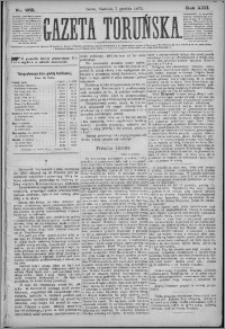 Gazeta Toruńska 1879, R. 13 nr 285