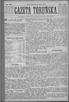 Gazeta Toruńska 1879, R. 13 nr 299