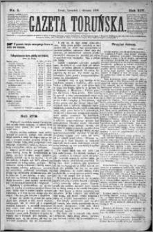 Gazeta Toruńska 1880, R. 14 nr 1
