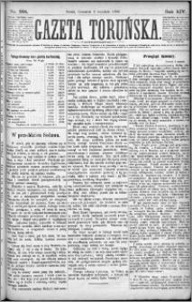 Gazeta Toruńska 1880, R. 14 nr 201