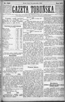 Gazeta Toruńska 1880, R. 14 nr 242