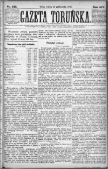 Gazeta Toruńska 1880, R. 14 nr 245