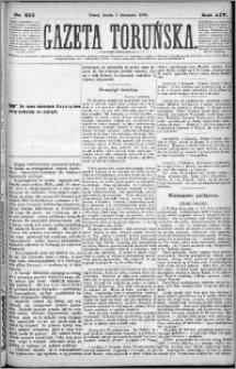 Gazeta Toruńska 1880, R. 14 nr 253
